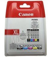 Canon PGI-570/CLI-571 - XL Inktcartridge / Zwart / Kleur