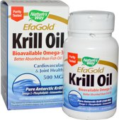 EfaGold krill olie 500 mg - 60 gelcapsules - Nature's Way - Visolie - Voedingssupplement