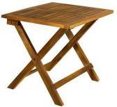 EezyLife Houten bijzettafel - 46x46x46cm - Acacia hout