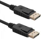 Qoltec 3m DisplayPort 3m DisplayPort DisplayPort Zwart