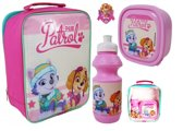 Paw Patrol SKYE & EVEREST Lunch Set Drinkbeker + Broodtrommel School Roze