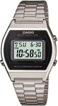 Casio Collection B640WD-1AVEF - Horloge - Staal - Zilverkleurig  - Ø 35 mm