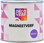 Decoverf magneetverf zwart, 500 ml