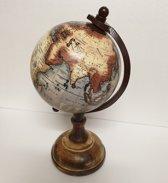 Wereldbol Op Voet 25 cm