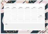 A4 Weekplanner - Studio Hoeked