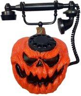 Haza Original Decoratietelefoon Pompoen 28 Cm Per Stuk