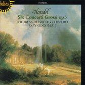 Handel: Concerti Grossi Op 3 / Roy Goodman, Brandenburg Consort