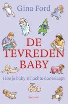 Omslag van 'De tevreden baby'