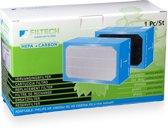 2-traps luchtfilter HEPA+koolstof
