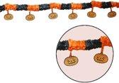 Halloween Slinger Pompoen met Onderhanger