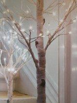 lichtboom lichtgevende sneeuw takken 90 cm met sneeuw takken 90cm