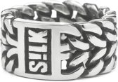 SILK Jewellery - Zilveren Ring - Eighty-Eight - 135.18 - Maat 18
