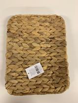 Waterhyacint mand - 29 x 22 x 4 cm