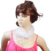 Sjaal Wit| Sjaaltje | Mode | 70x70 cm
