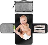 Verschoningsmatje - luiermat - Verzorgingsmatje voor onderweg - Aankleedmatje - Babymatje