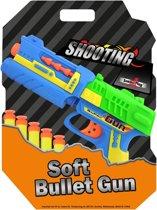 Soft bullet gun