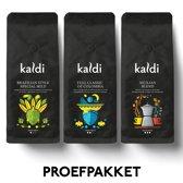 Kaldi Proefpakket Koffiebonen - 3 x 250 gram