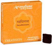 Aromafume Chakra Wierookblokjes: Swadhishtana - sacraal chakra