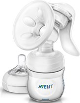 Philips Avent SCF330/20 - Handmatige borstkolf met Philips Avent Natural babyfles (125 ml)