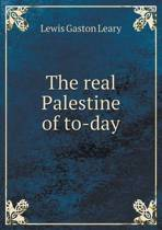 The Real Palestine of To-Day