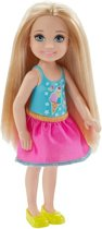 Barbie Club Chelsea Tienerpop Blond 14 Cm