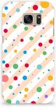 Samsung Galaxy S7 Hardcase Hoesje Design Dots