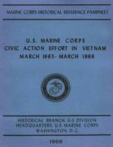 U.S. Marine Corps Civic Action Efforts in Vietnam, March 1965-March 1966