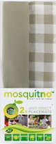 MosquitNo Insectwerende Placemats Donkergrijs