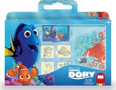 Multiprint Disney Finding Dory - windowbox - 7 stempels + 3 stiften