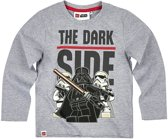 LEGO-Star-Wars-T-shirt-met-lange-mouw-grijs-maat-104