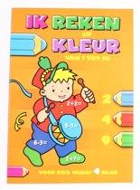 Flash Ik Reken En Kleur: Van 1 Tot 10 Junior Oranje