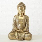 Buddha - Boedha - Goud - 20 cm