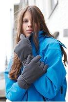 Thinsulate Fleece Handschoenen - Maat S/M - Zwart