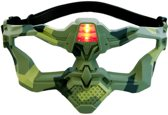 Light Battle Active VIP masker | lasergame masker - Camo groen
