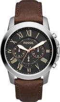 Fossil Zilverkleurig Mannen Horloge FS4813IE
