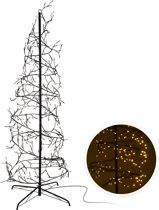 Home&Style Decoration Kerstboom spiraal 150cm - 360 LED - warm wit
