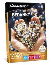 Wonderbox Cadeaubon - Bedankt!
