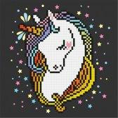 50464 DIAMOND ART(Powered by Diamond Dotz) - 20.32 x 20.32cm Kits Shy Unicorn