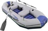 Intex Opblaasboot Mariner 3 Personen 297 X 127 X 46 Cm Grijs