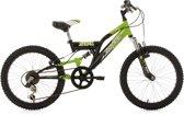 Ks Cycling Fiets 20'' kinderfiets Zodiac van KS Cycling, zwart-groen, FH 31 cm - 31 cm