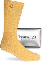 Gouden Sokken - Button Right - Mrs. Carter
