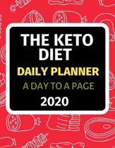 Keto Diet: Daily Planner 2020