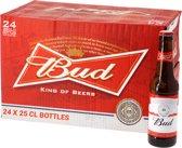Bud 25cl - 24 stuks - Bier voordeelverpakking