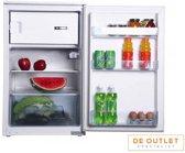 M-System inbouw koelkast met vriesvak MKRV89