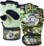 Joya Fight Gear MMA Fight Fast - MMA handschoenen - Camo groen - Maat M - Leer