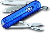 Victorinox Classic SD - Zakmes - 7 Functies - Transparant Blauw