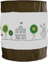 Taftan - Lamp - Huisjes/boompjes groen