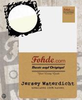 Fohde Hoeslaken Jersey Waterdicht hoeslaken - 140 X 200 cm