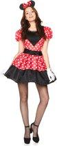 Miss Minnie Mouse Kostuum | Tekenfilm | Vrouw | L | Carnaval kostuum | Verkleedkleding