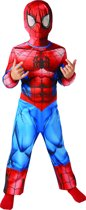 Marvel Ultimate Spiderman Classic Maat 98/104 - Verkleedpak